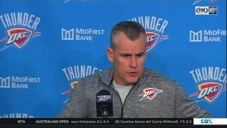 Billy Donovan on Russ' ejection, OKC win over Kings