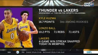 LA Lakers vs. OKC Thunder preview | Thunder Live