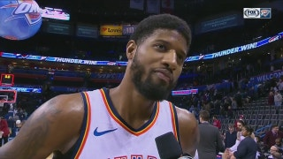 Paul George talks defense, getting the 95-88 win against Kings