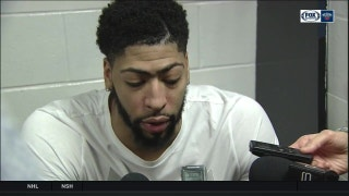 Anthony Davis: 'Great win for us'