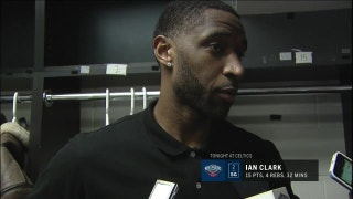 Ian Clark, Pelicans 'Taking the right steps' in win over Celtics