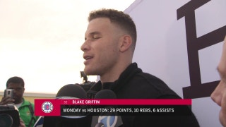 Wesley Johnson and Blake Griffin on Monday's win vs. Houston
