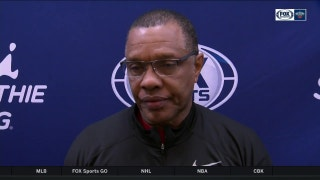 Alvin Gentry on Pels energy in 94-93 loss against Atlanta