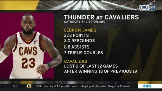 OKC Thunder vs. Cleveland Cavaliers preview | Thunder Live