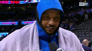 Carmelo Anthony turning back the clock in win over Lakers