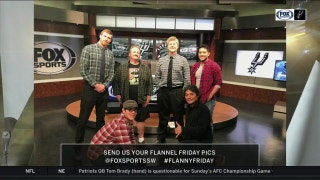 Flannel Friday on the Set | Spurs Live