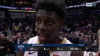 Jrue Holiday: 'I think we sustained our punch'