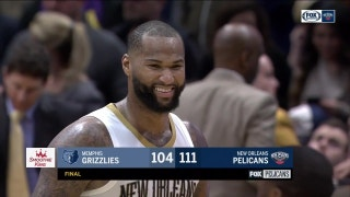 Cousins, Pelicans Happy after 111-104 win over Grizzlies | Pelicans Live