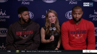 Anthony Davis, Boogie Cousins talk about the All-Star Game | Pelicans Live