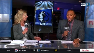 A 'Less Stress Victory' over Wizards | Mavs Live
