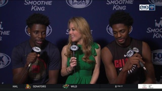 Jrue & Justin Holiday on Bragging Rights | Pelicans Live