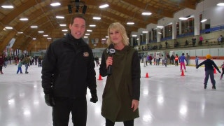 Hockey Day SoCal: Learning to skate with Carrlyn Bathe