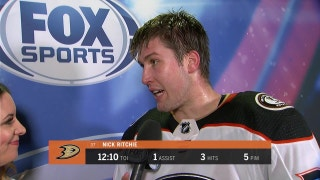 Ducks' Nick Ritchie on #FreewayFaceoff victory over LA Kings (4-2)