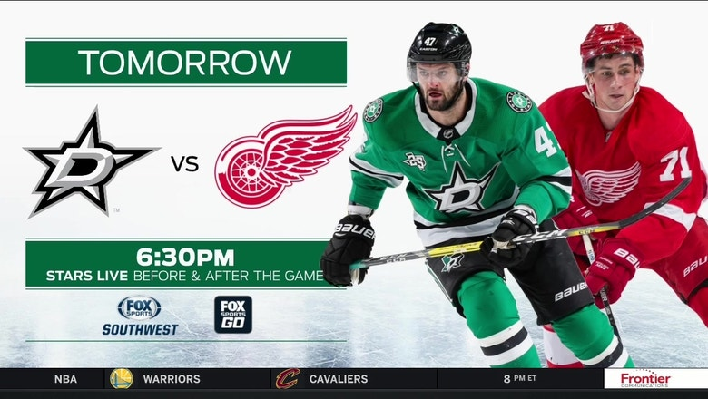 Dallas Stars vs. Detroit Red Wings preview | Stars Live