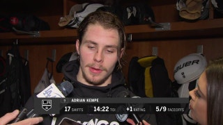 Adrian Kempe on loss to Sharks