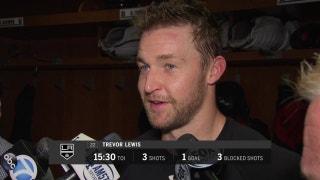 LA Kings' Trevor Lewis on Monday's loss to Sharks