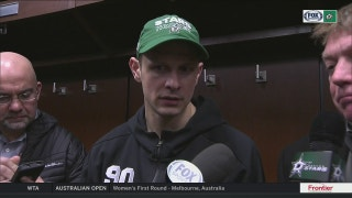 Jason Spezza on being in lineup in win over Red Wings