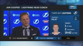 Jon Cooper: We got outplayed tonight, that was it