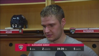 Aleksander Barkov on his 3-point night against Vegas