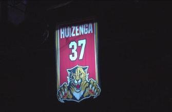 Panthers retire No. 37 in honor of H. Wayne Huizenga