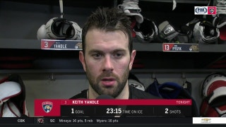 Keith Yandle: 'I thought we played hard'
