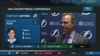 Jon Cooper: We're out of sync, it's unreal