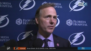 Jon Cooper on the goalie interference no-call: 'Right when I think I have the standard figured out'