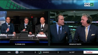 Razor and Ludwig breakdown big win against the Panthers | Stars Live