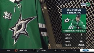 Jamie Benn riding 7-game point streak | Stars Live