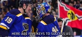 Keys to Blues' success the rest of the way