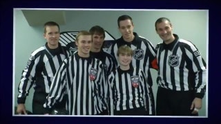 Wild spotlight youth hockey refs