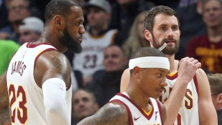 Cavs Collapse: Nick Wright explains why LeBron beating the Warriors could now hinge on Kevin Love