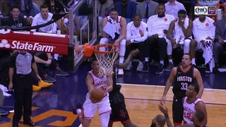 WATCH: Booker goes up and under vs. Rockets