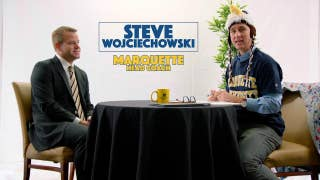 Cooper Manning catches up with Marquette head coach Steve Wojciechowski