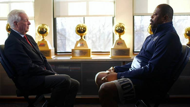 Patrick Ewing sits down with Bill Raftery ahead of Georgetown's meeting with St. John's