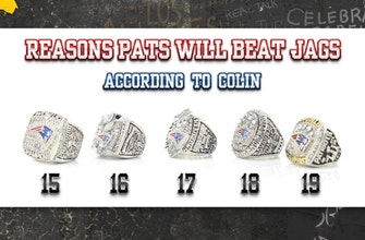Colin Cowherd unveils 19 reasons why Tom Brady and the Patriots will beat the Jacksonville Jaguars