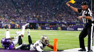 Dean Blandino: Why contact on a 'bang-bang' play like in Saints-Vikings is not a foul