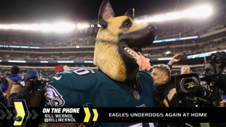 The Eagles are underdogs again at home