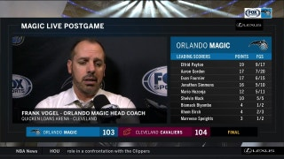 Frank Vogel: 'I felt like they deserved the victory'