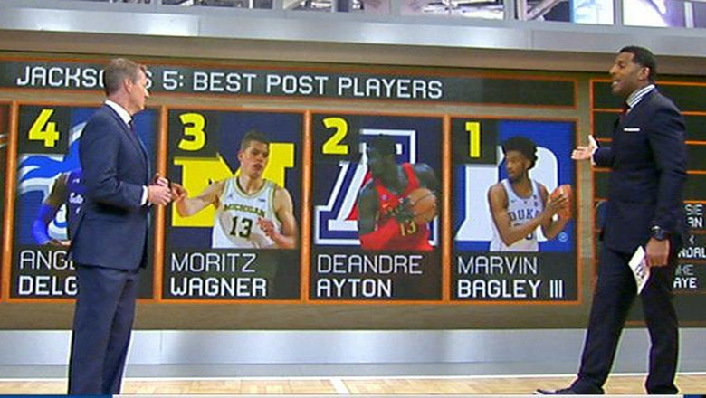 Jim Jackson breaks down his Top 5 post players in college basketball