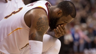 Cris Carter reveals why it's time worry about LeBron's Cavs after their blowout loss to the Toronto Raptors
