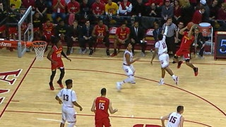 Maryland's Anthony Cowan Jr. sinks tough jumper as shot clock expires