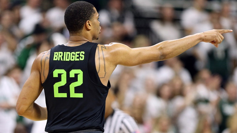 Miles Bridges puts on a clinic in No. 9 Michigan State's blowout of Indiana