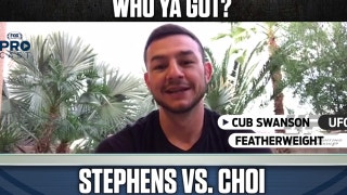 Cub Swanson makes his pick between Jeremy Stephens vs. DooHo Choi