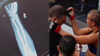 Paige VanZant confirms she broke her arm during fight at UFC St. Louis on Sunday