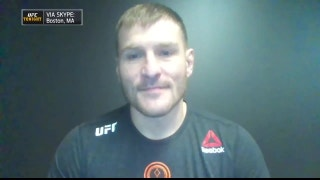 Kenny Florian and Tyron Woodley inteview Stipe Miocic before he defends his belt at UFC 220