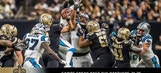 Saints sneak past Panthers in wild card round