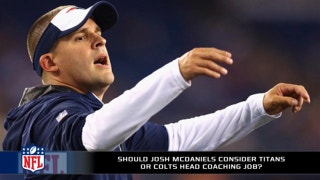 Should Josh McDaniels consider the Colts or Titans?