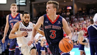 St. Mary's knocks off No. 13 Gonzaga 74-71 for 13th consecutive win