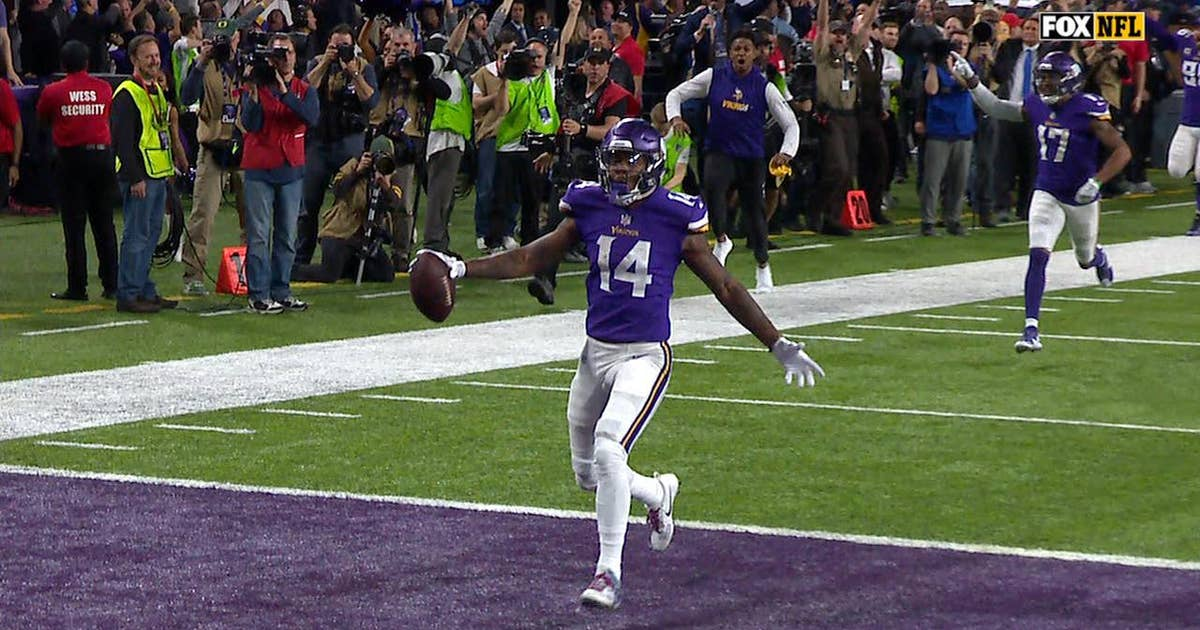 Case Keenum finds Stefon Diggs for a 61-yard, last-second, game-winning TD Vikings fans will never forget (VIDEO)